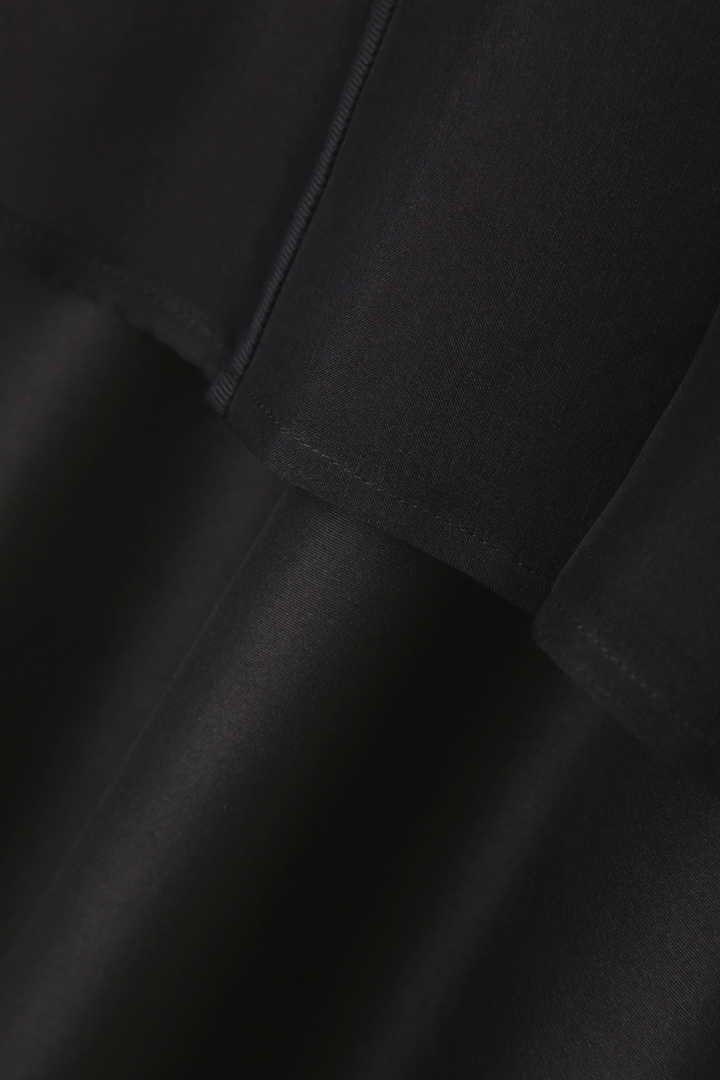 《BLACK LABEL》レイヤードシルク ワンピース