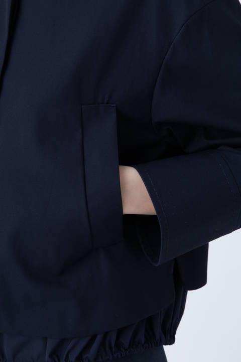 コンパクトコットン2枚重ねジャケット