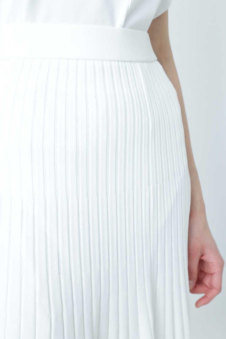 ストレッチプリーツスカート