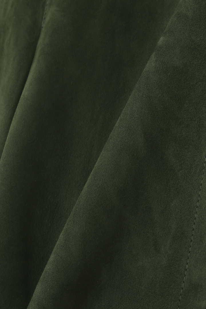 DROMeスエードノーカラージャケット