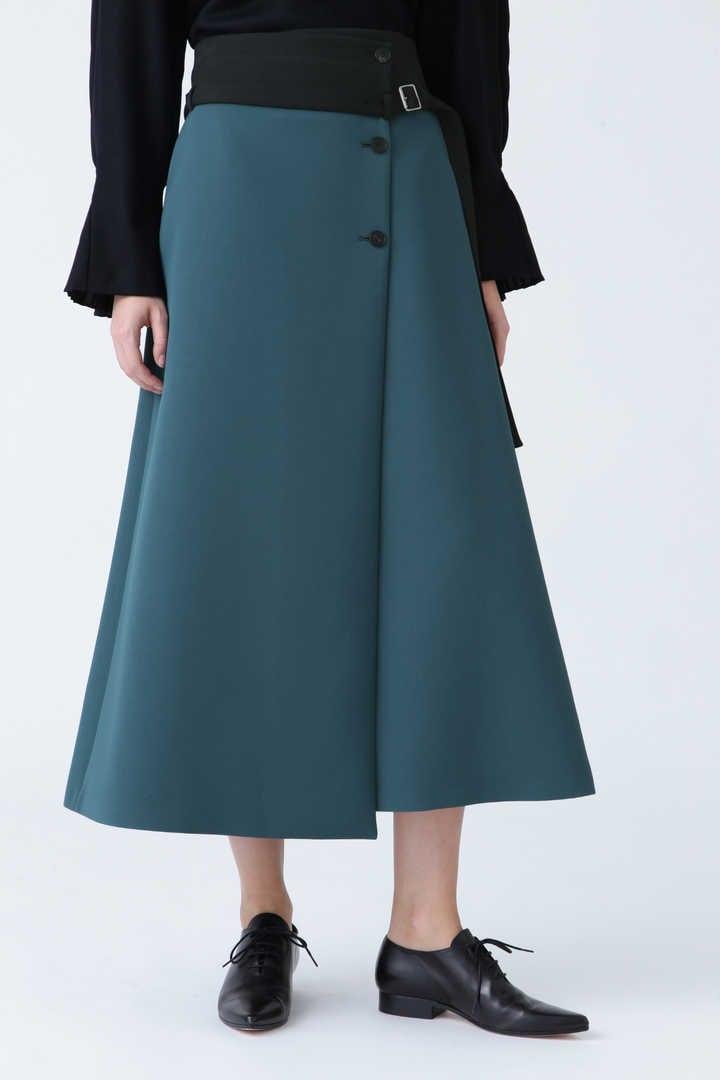 トリプルクロスラップスカート