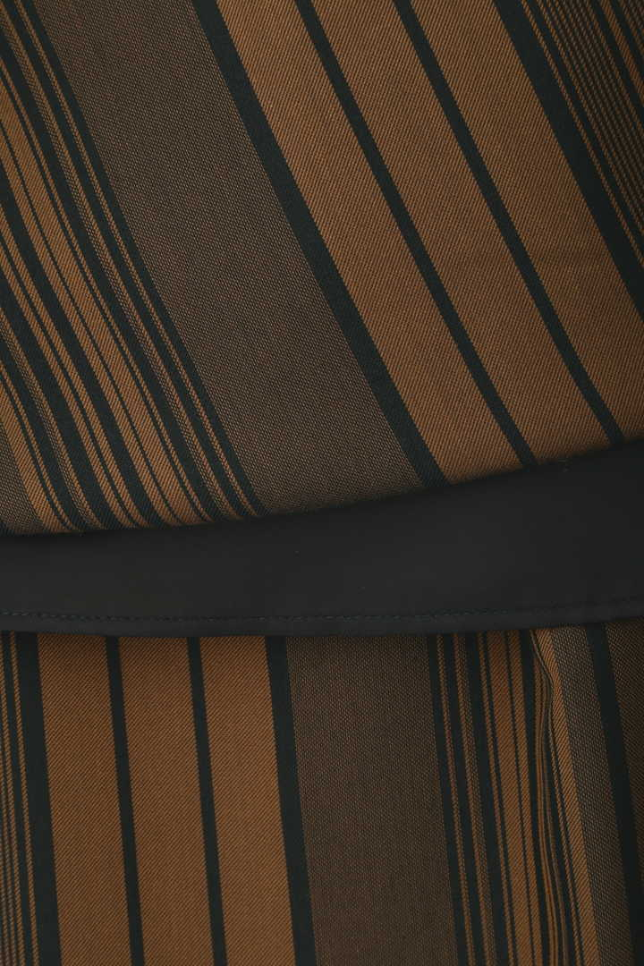 マルチストライプロングスカート