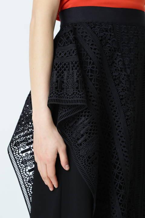 マルチパターンレースセパレートスカート