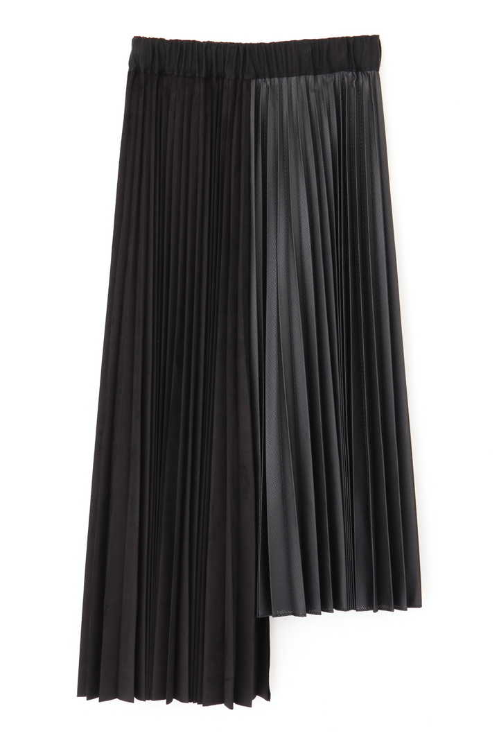 ミックスプリーツアシメトリースカート