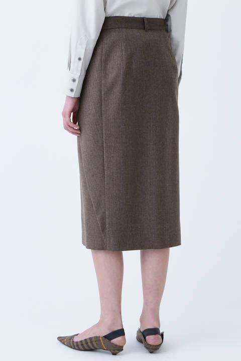ライトウールタイトスカート