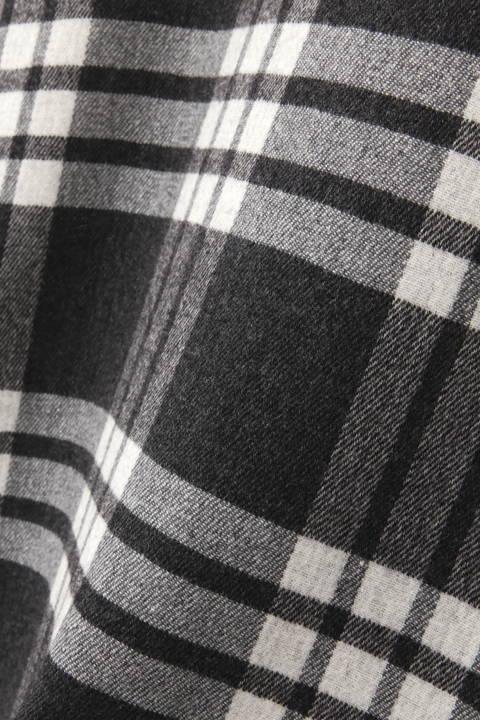 リバービッグチェックジャンパースカート