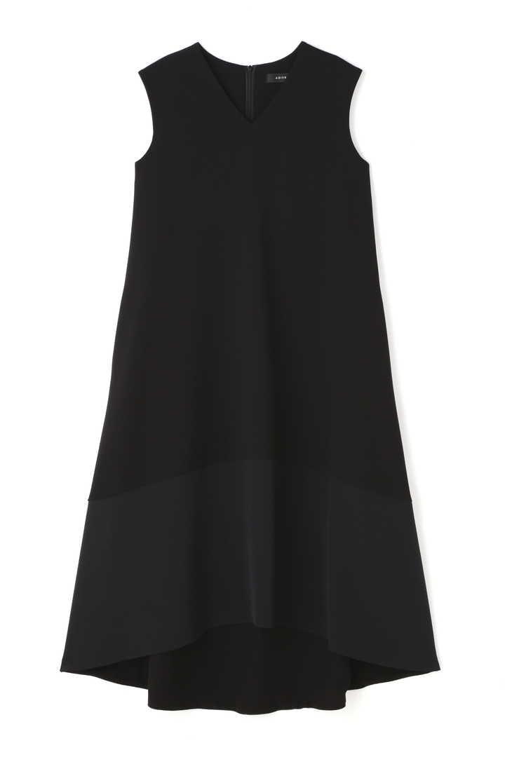 《BLACK LABEL》トリアセWクロスノースリーブワンピース