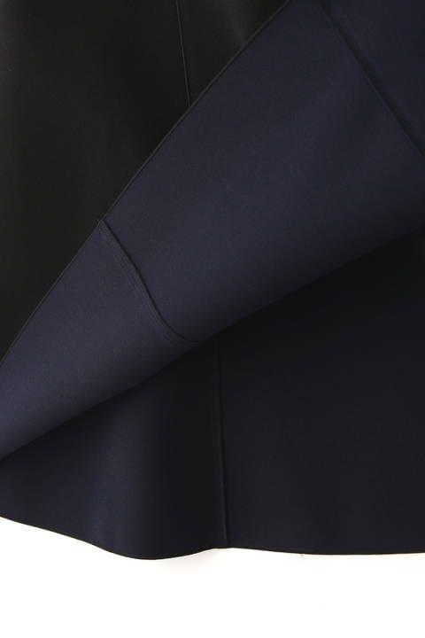 2TONEボンディングジャンパースカート