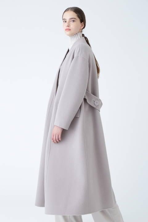 ルチアーナリバーバックベルトコート