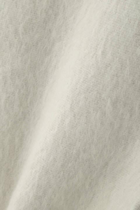 シャギーリバーノーカラーコート