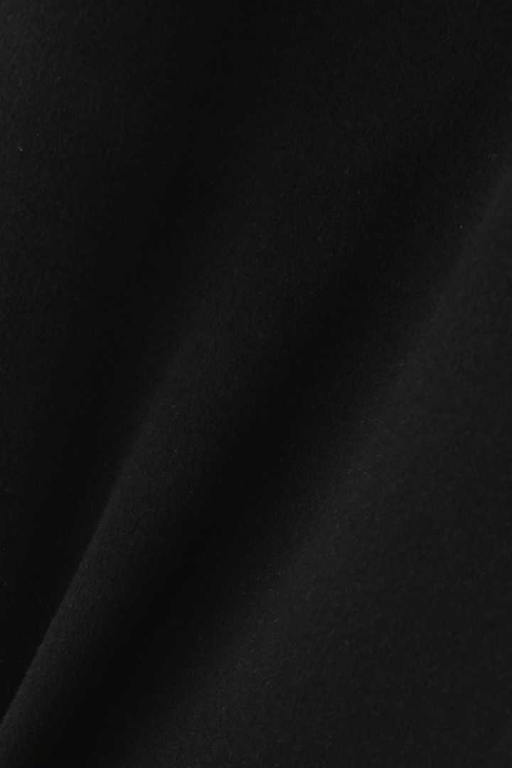 ピュアカシミアリボンベルト付きコート