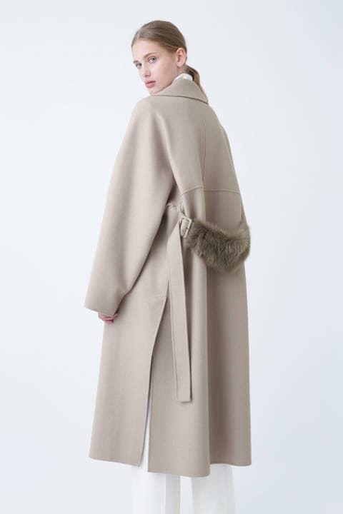 ライトリバーバックベルトコート