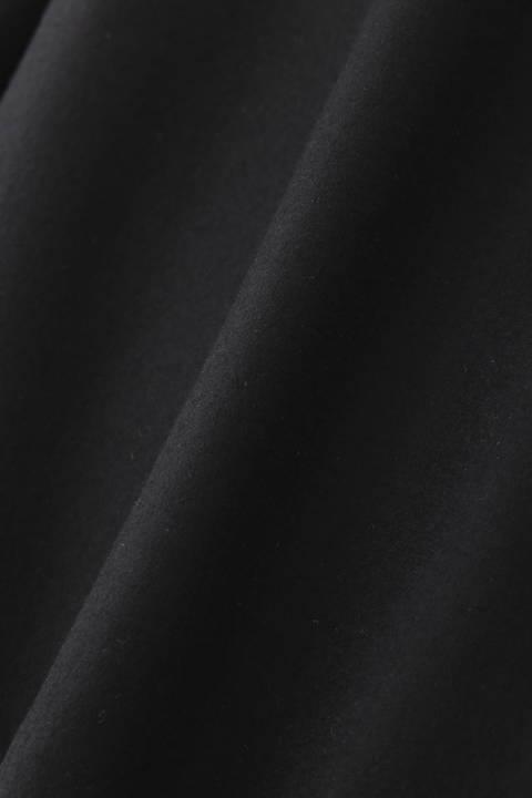 スーパー100圧縮袖プリーツカットソー