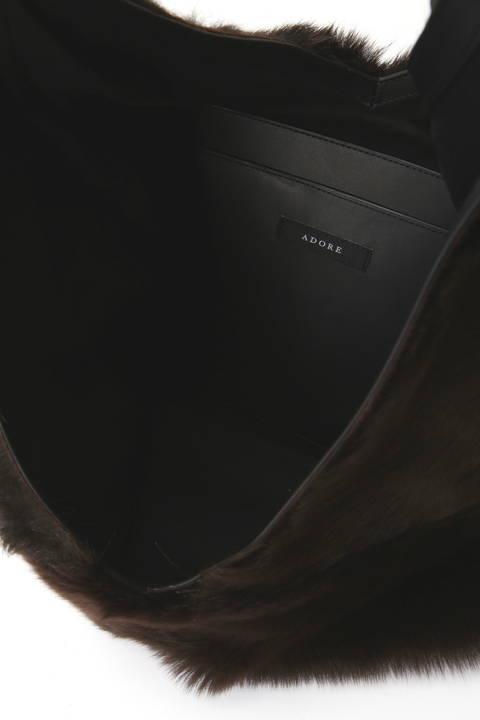 ムートンビンドルバッグ