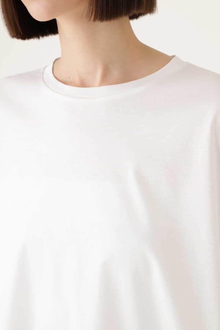 《LE PHIL》シルキースムース ノーススリーブTシャツ