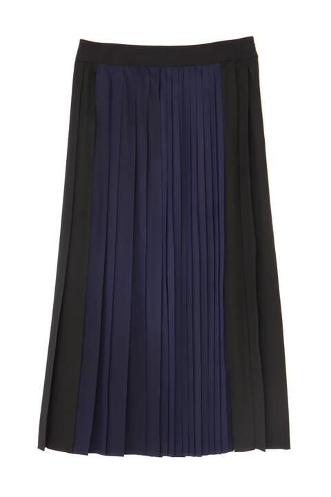 《LE PHIL》グラデーションプリーツスカート