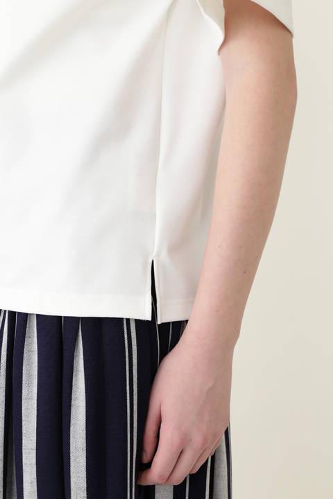 《LE PHIL》コットンストレッチTシャツ