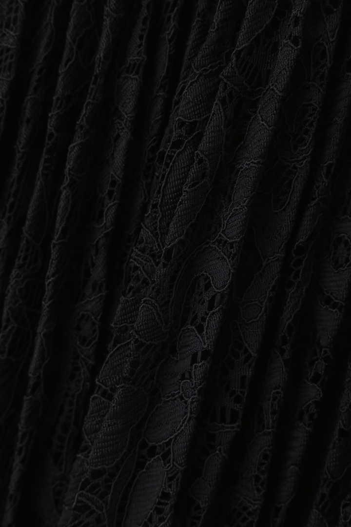 《LE PHIL》レースプリーツスカート