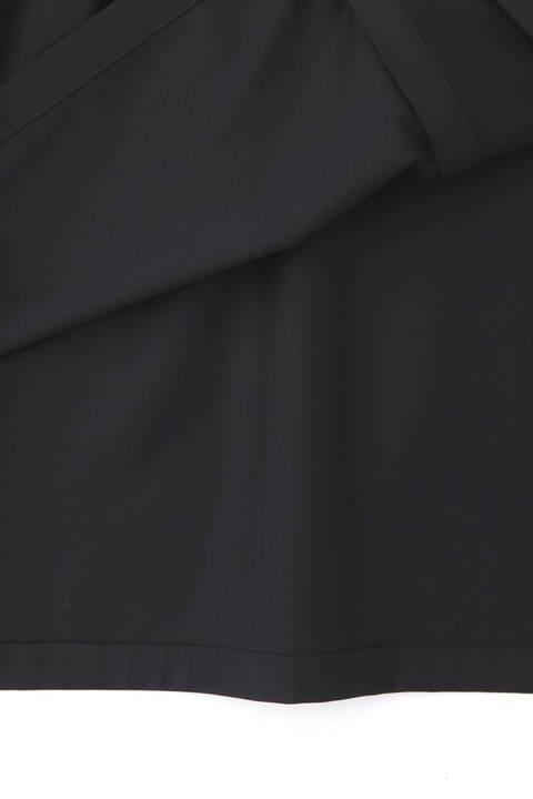 《LE PHIL》ドライウールシャツカラーワンピース