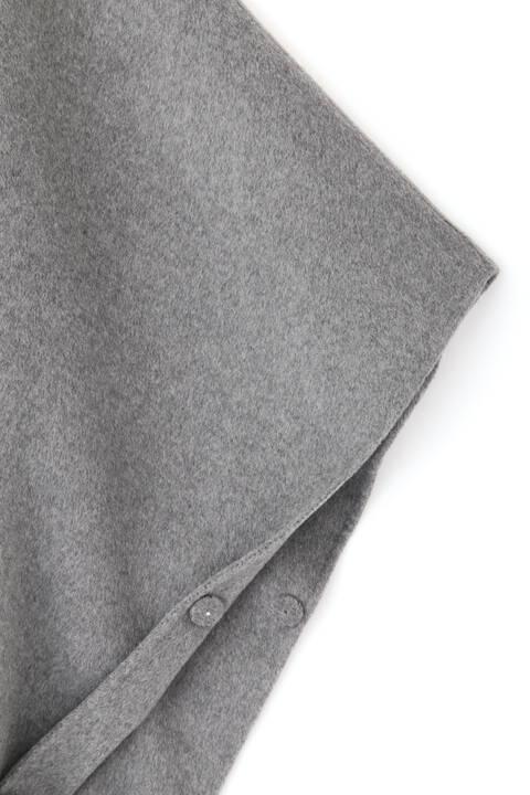 《LE PHIL》ピュアカシミアポンチョジャケット
