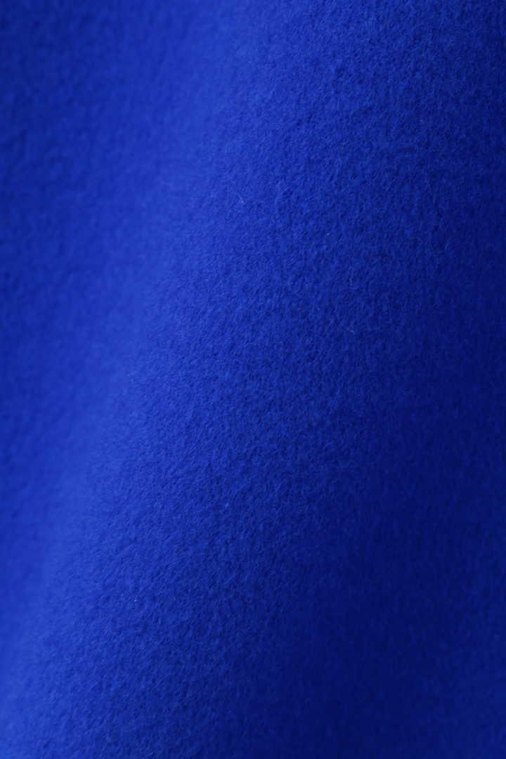 《LE PHIL》スーパー140ウールストール付きノーカラーコート
