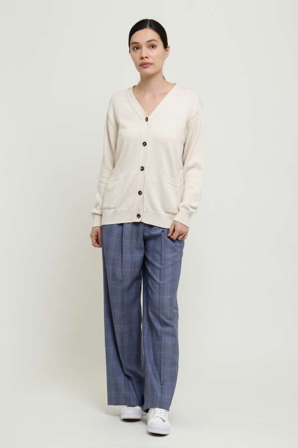 WOMEN'S FINE WOOL CHECK