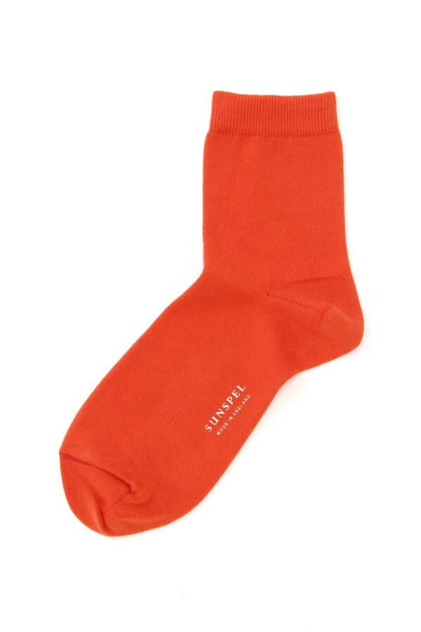 WOMEN'S PLAIN COTTON SOCK