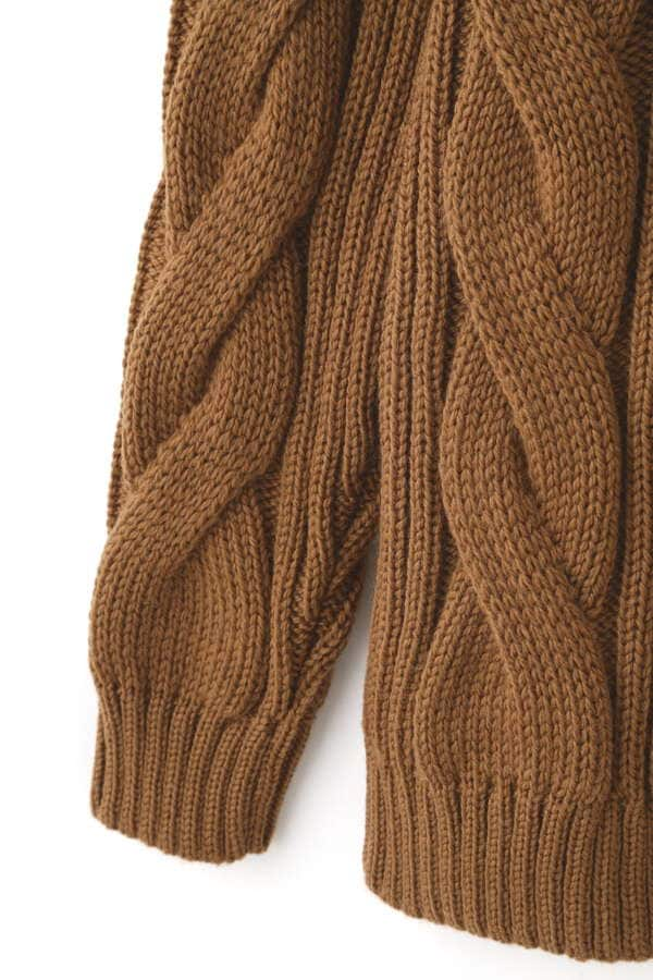 WOMEN'S MERINO CABLE