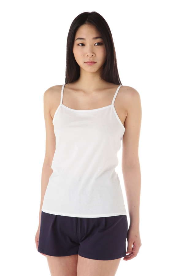 Women's Long-Staple Cotton Jersey Cami Top