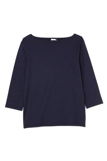 Women's Long-Staple Cotton Long Sleeve  Boat Neck T-Shirt