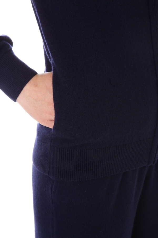 Women's Cashmere Zip Hoody
