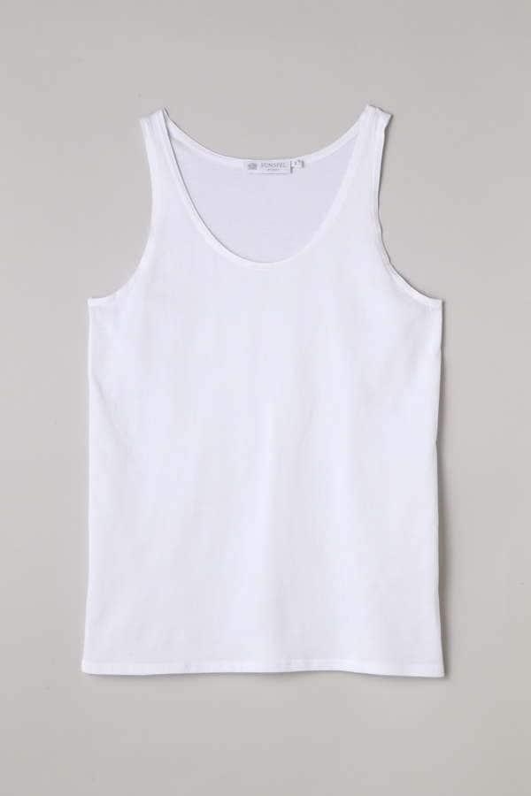 Women's Long-Staple Cotton Tank Top