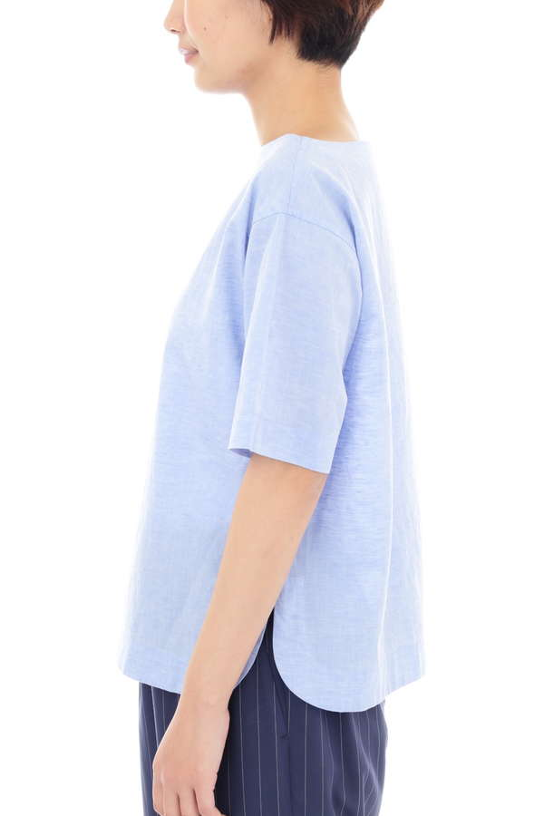 WOMEN'S COTTON LINEN SHIRTING