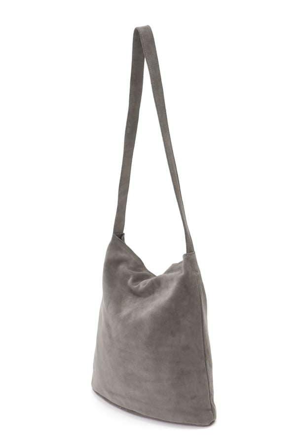 UNISEX NUBUCK SHOULDER BAG