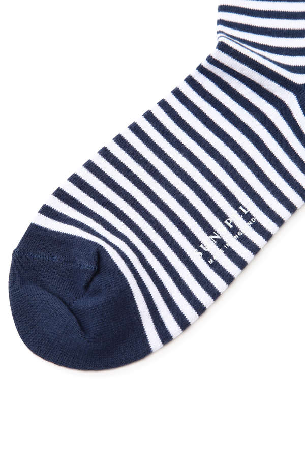 WOMEN'S STRIPE COTTON SOCK