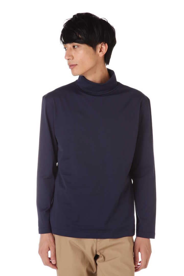 Men's Long-Staple Cotton Long Sleeve Turtleneck