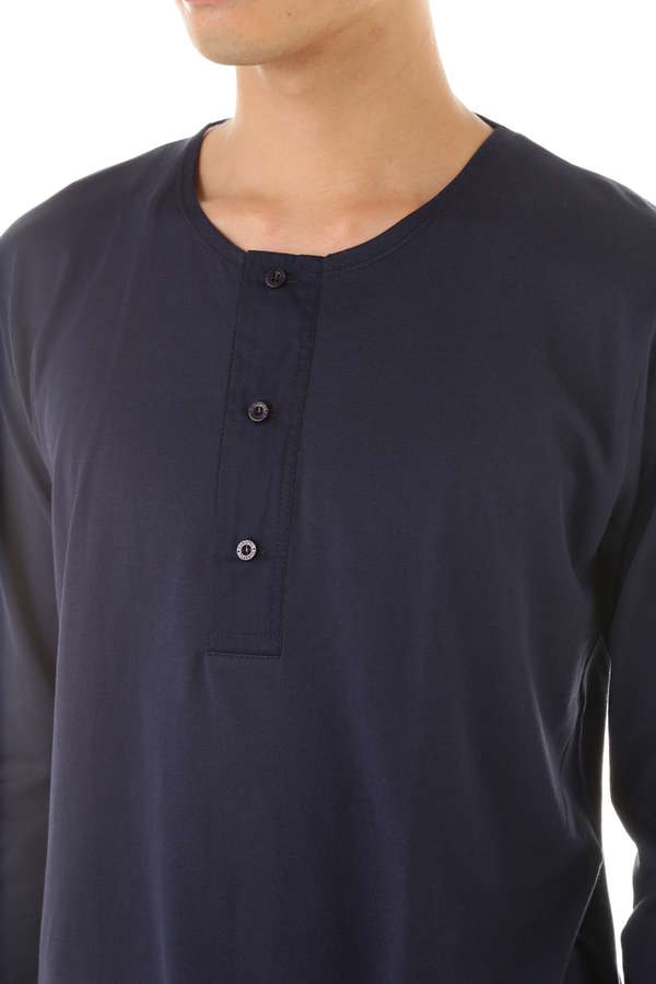 MEN'S  ENGLISH-SPUN COTTON 1937 HENLEY