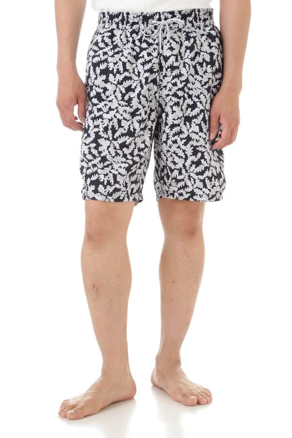 MEN'S LIGHTWEIGHT NYLON DRAWSTRING SWIM SHORT