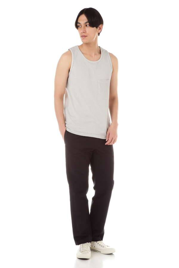 【LEMAIRE AND SUNSPEL】COTTON MESH JERSEY TANK TOP