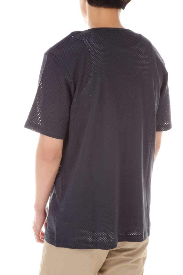 【LEMAIRE AND SUNSPEL】COTTON MESH JERSEY T-SHIRT