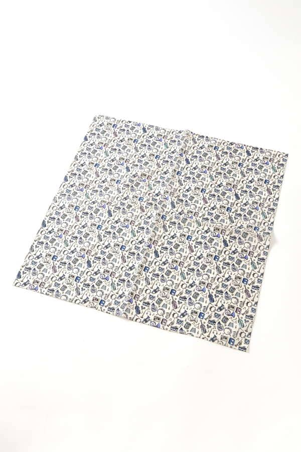 LIBERTY PRINT COTTON BANDANA