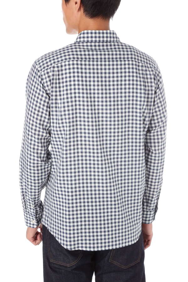 MEN'S FLANNEL GINGHAM CHECK