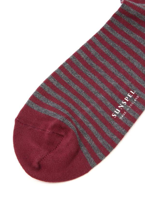 MEN'S STRIPE COTTON SOCK
