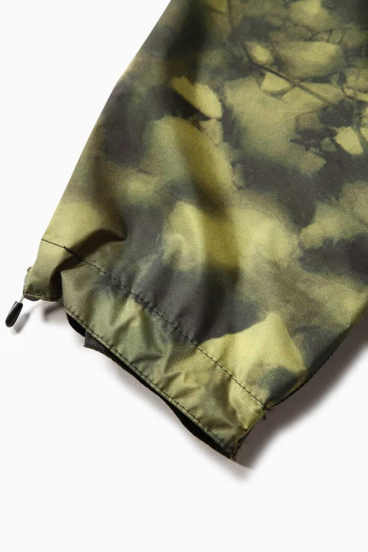 printed fly rain long coat