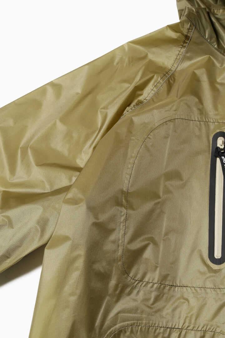 fly rain long coat