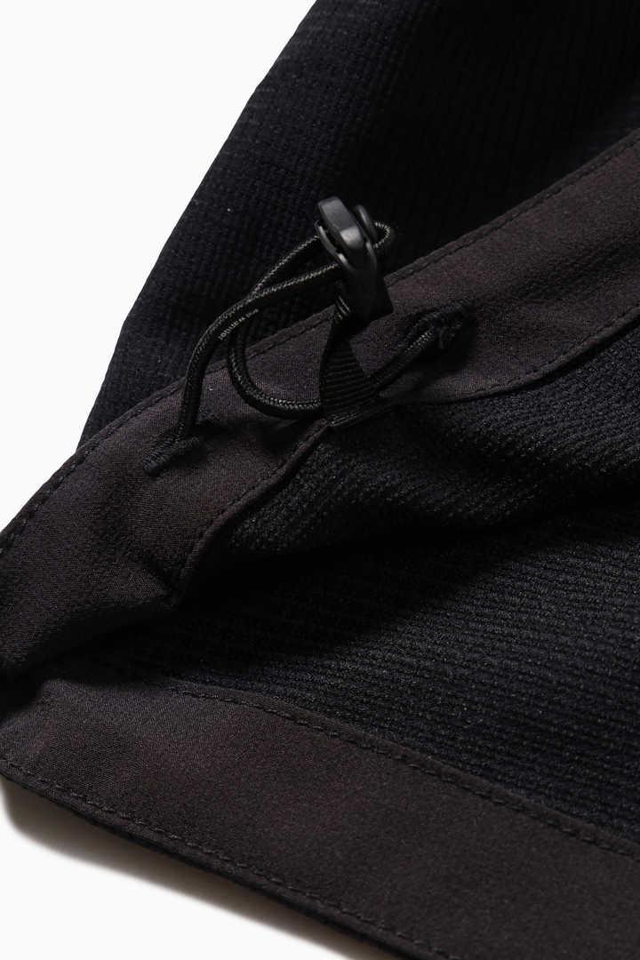 tech long sleeve band collar shirt