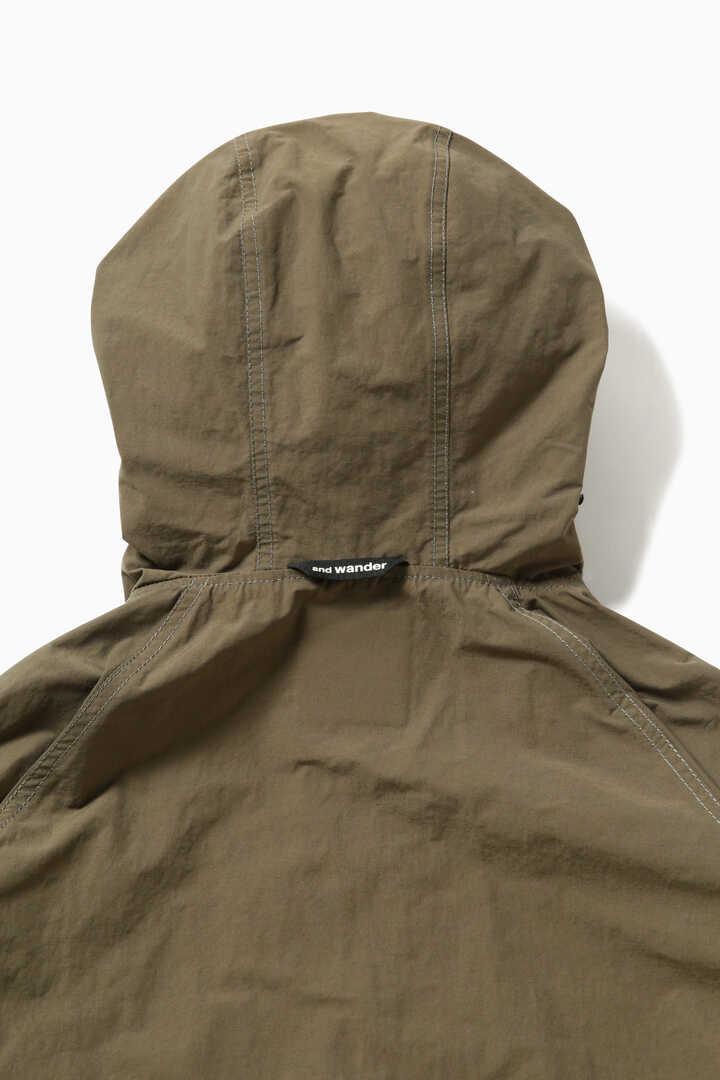 nylon taffeta hoodie