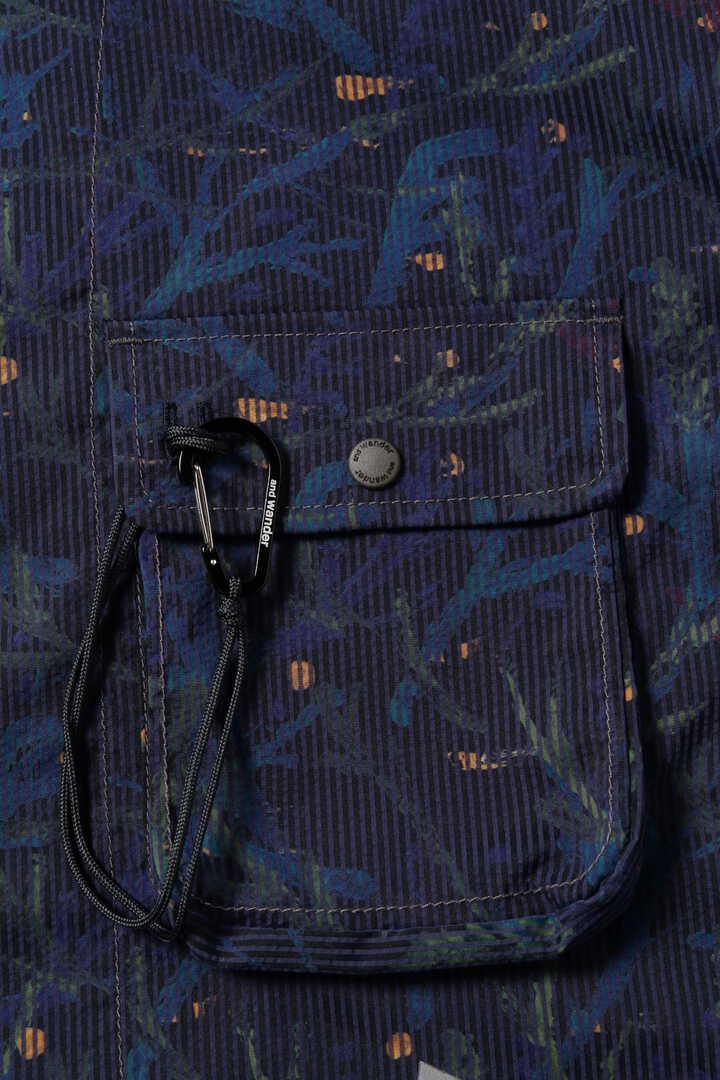 printed dry seersucker shirt