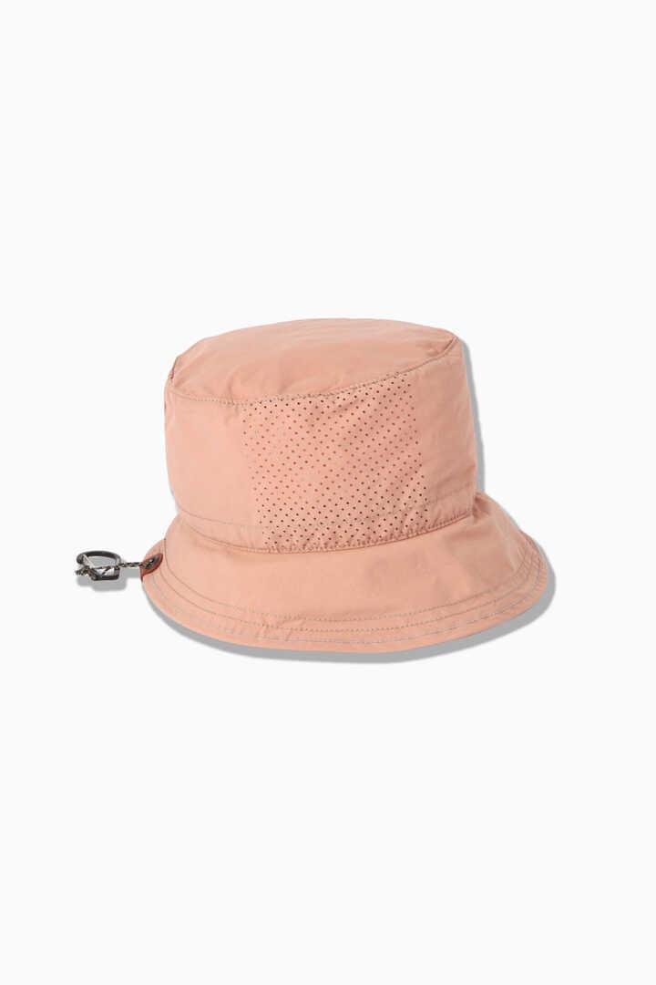laser hole nylon taffeta hat