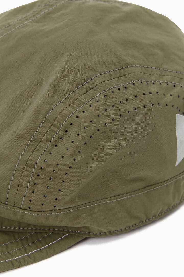 laser hole nylon taffeta cap